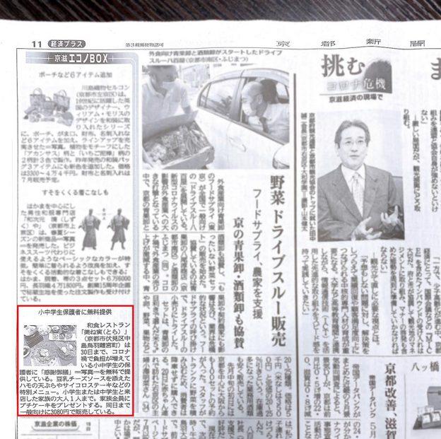 京都新聞 京滋エコノBOX